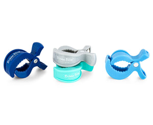 Bubba Blue Pram Clip - Boy Pack - 4 Pack