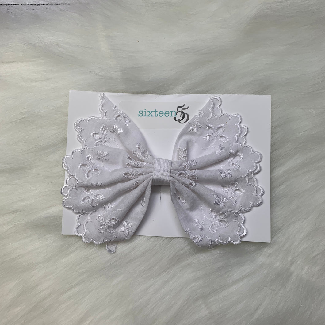 Lace Bow - 1pk