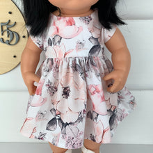 Load image into Gallery viewer, Miniland & Minikane 34 / 38cm White Alaska Dolls Dress