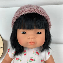 Load image into Gallery viewer, Dolls Beanie - Pink Glitter