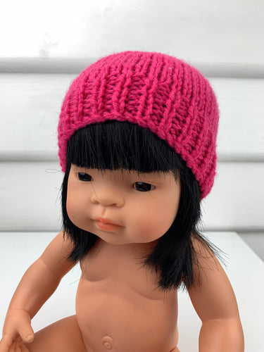 Dolls Beanie - Hot Pink