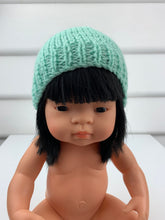 Load image into Gallery viewer, Dolls Beanie - Aqua