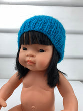 Load image into Gallery viewer, Dolls Beanie - Blue