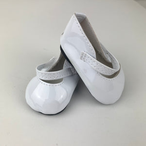 Classic White Shoes - 38cm Miniland