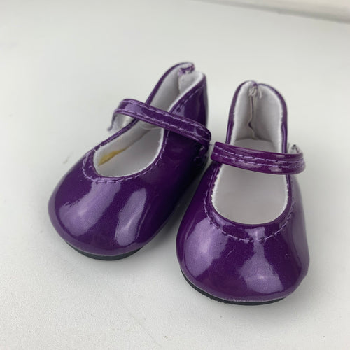 Classic Purple Shoes - 38cm Miniland