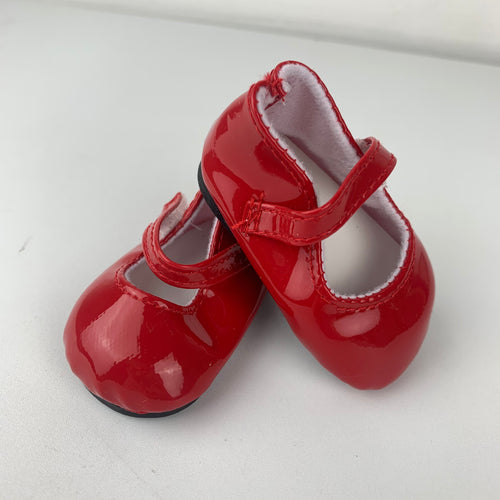 Classic Red Shoes - 38cm Miniland