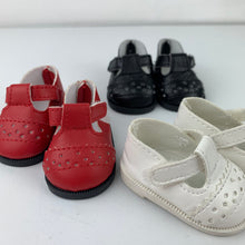 "Load image into Gallery viewer, Dolls Shoes - 32cm Miniland - ""T Bar"""