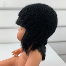 Load image into Gallery viewer, Dolls Beanie - Black