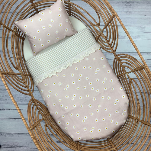 Pink Daisy - Blanket & Pillow Set 2pc