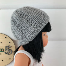 Load image into Gallery viewer, Dolls Beanie - Grey