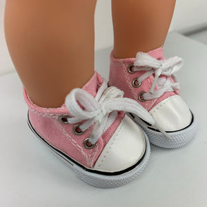 Pink Sneakers - Dolls Shoes 38cm Miniland