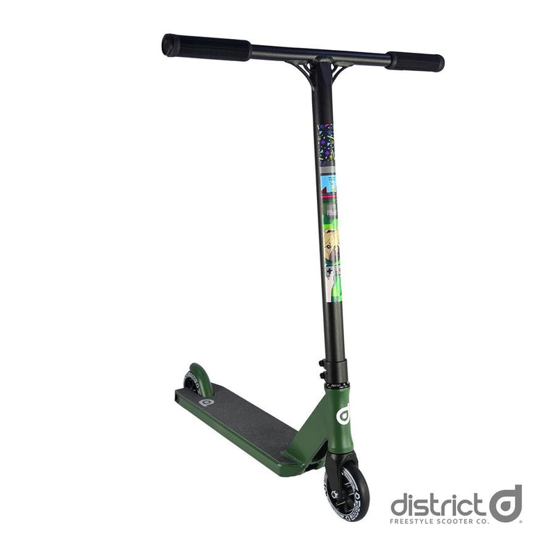 District C50R Complete Scooter