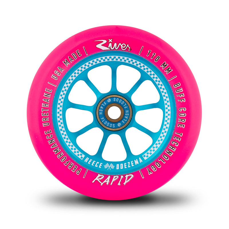 "River Wheel Co ""Checkmate"" Rapids 110mmReece Doezema Sig Wheels"