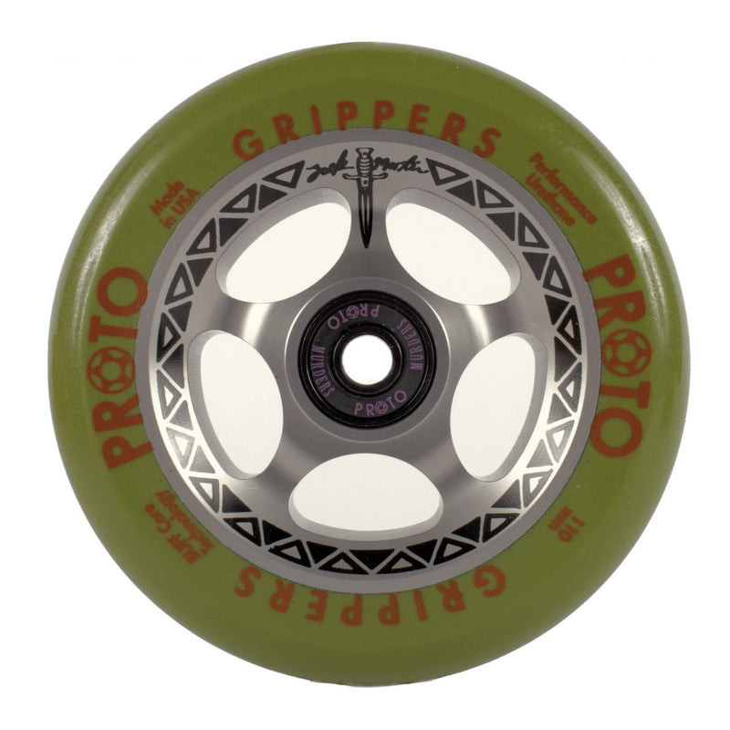 "Proto ""Tracker"" Grippers 110mm Zack Martin Sig Wheels"