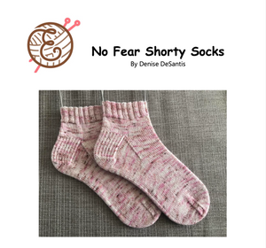 No Fear Shorty Socks Pattern
