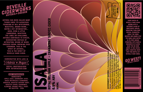 Isala (Royal Belgian Cranberry) 6.9% ABV