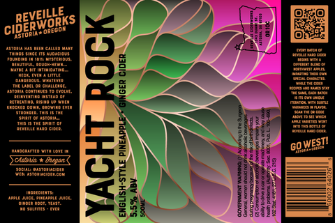 Yacht Rock (Pineapple + Ginger) 5.5% ABV