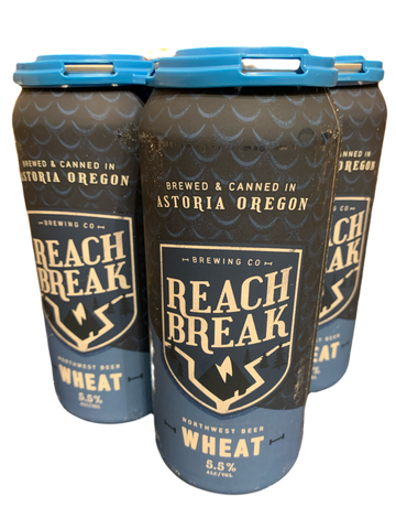 Reach Break Wheat (Wheat Ale) 5.5% ABV