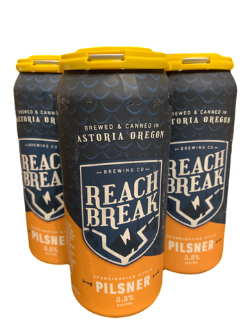 Reach Break Scandinavian Pils (Pilsner) 5.5% ABV