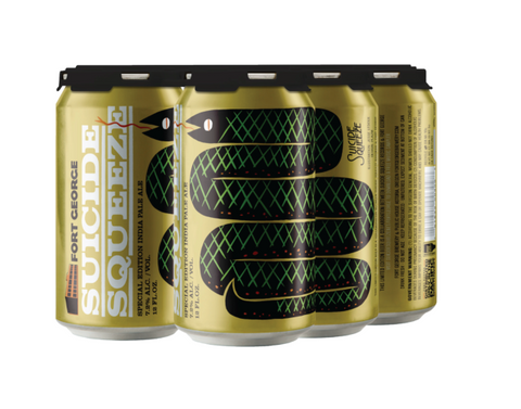 Fort George Suicide Squeeze (IPA) 7.2% ABV