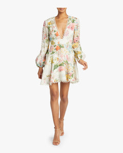 Zimmermann- Heathers Flounce Dress-Garden Floral
