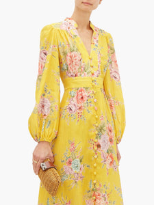 Zimmermann- Zinnia button down dress