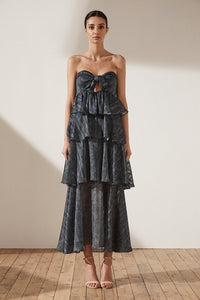 Shona Joy- Tiered Maxi Dress