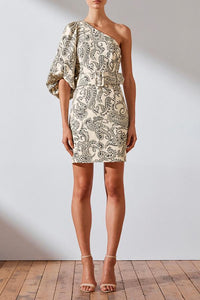 Shona Joy- Zella Linen Shoulder Dress