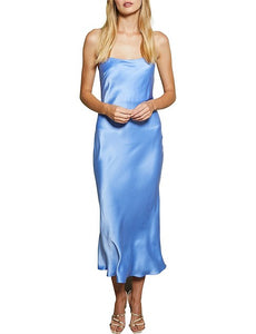 Bec & Bridge- Classic Midi Dress Periwinkle