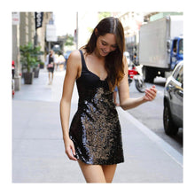 Load image into Gallery viewer, Alice McCALL- Dark Paradise Mini Dress