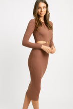 Load image into Gallery viewer, Kookai- Lola long sleeve cut out dress