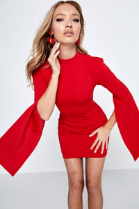 Mossman- Sense of Mystery Dress Red