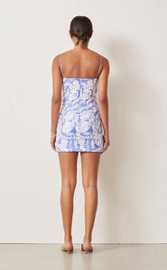 Bec & Bridge- Banana Leaf Mini Dress