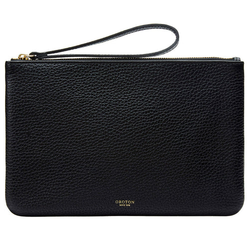 Oroton-Avalon Medium Black - Pouch
