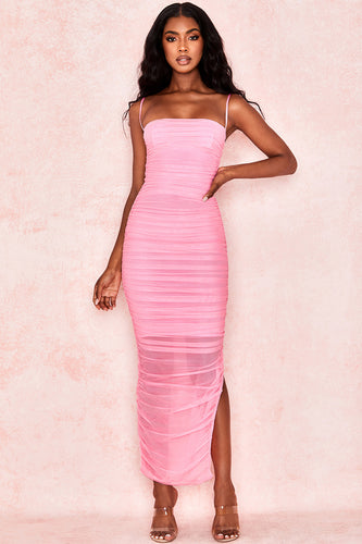 House of CB- Fornarnia Pink Dress