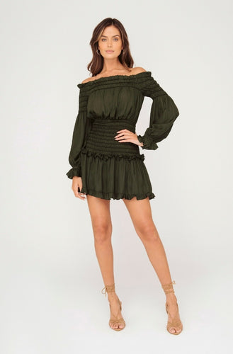 Sheike- Savannah Long Sleeve Dress