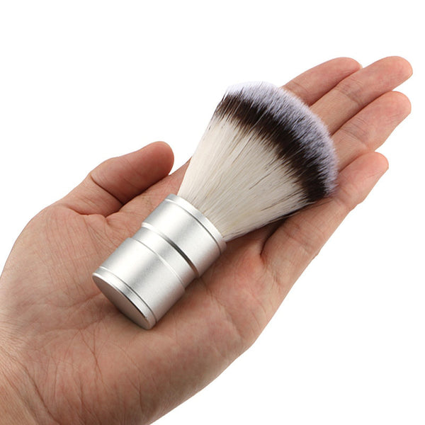 Premium Shaving Brush - Chrome
