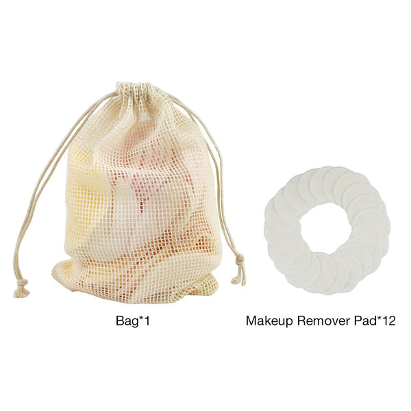 12pcs Makeup Remover Pad Set