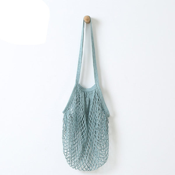 Net String Tote Bag - Orange