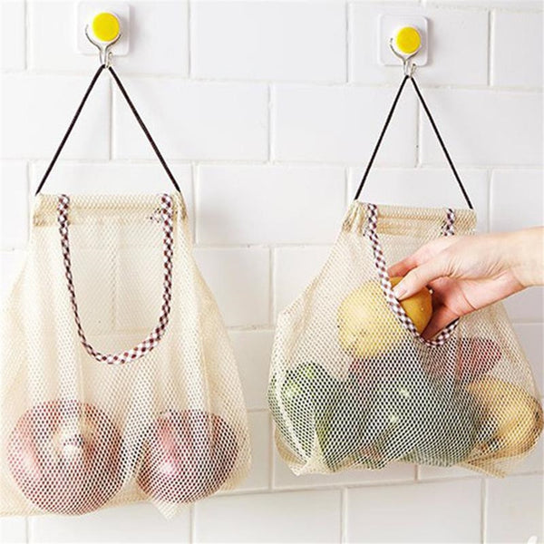 Mesh Net Fruit Storage Bag - Single