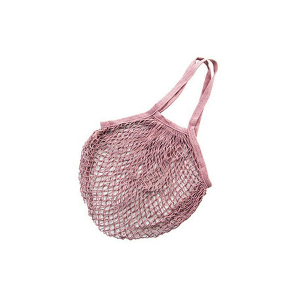 Net String Tote Bag - Pink