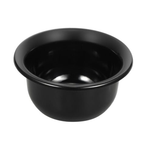Simple Plastic Shaving Bowl - Black