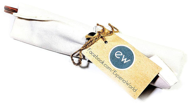 ExperiaWorld Bamboo Eco Travel Kit