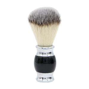Premium Shaving Brush - Black & Chrome