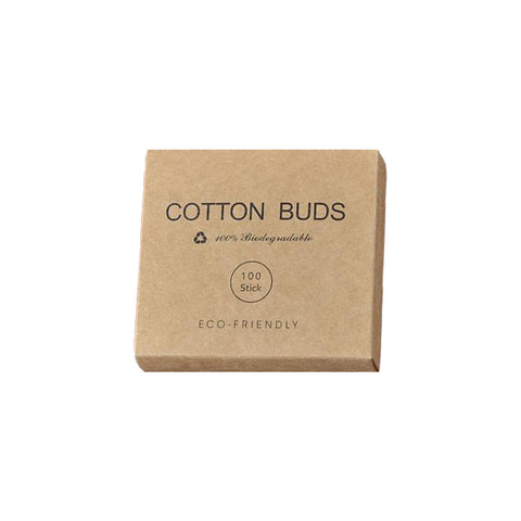 Simple Bamboo Cotton Buds - 100pcs