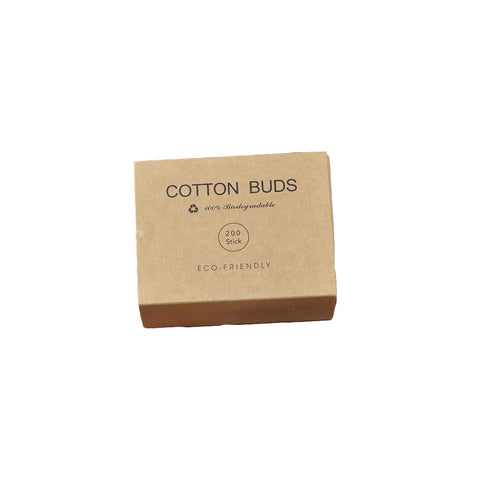 Simple Bamboo Cotton Buds - 200pcs