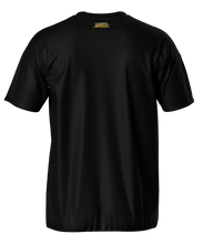 "Load image into Gallery viewer, ""Chest Crest"" Black Tee"