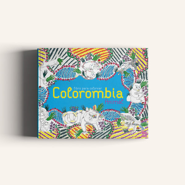 Colorombia Animal - libro para colorear Villegas editores -