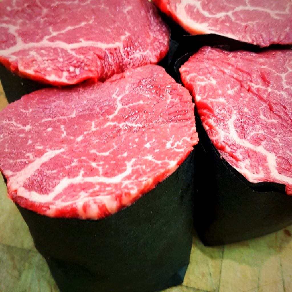 Texas-cut Filet Mignon - 2 x 10oz Steaks