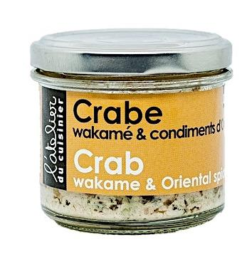 Crab Wakame and Oriental Condiments 80g